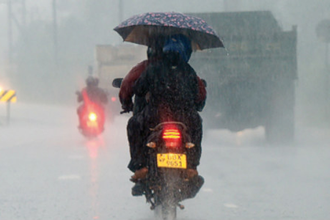 Heavy showers of about 100mm likely in four provinces