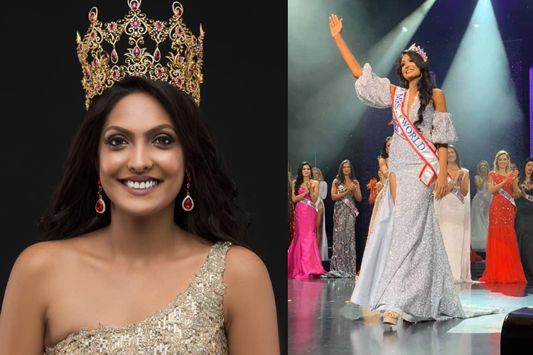 Sri Lankan crowned Mrs. World after 35 years