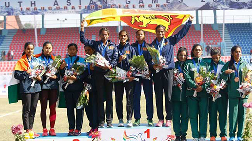 Sri Lanka tops India in SAG athletic events after 28 years