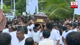 Final rites of MP Ranjith De Zoysa performed this evening