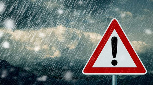 Very heavy rains expected in parts of the country
