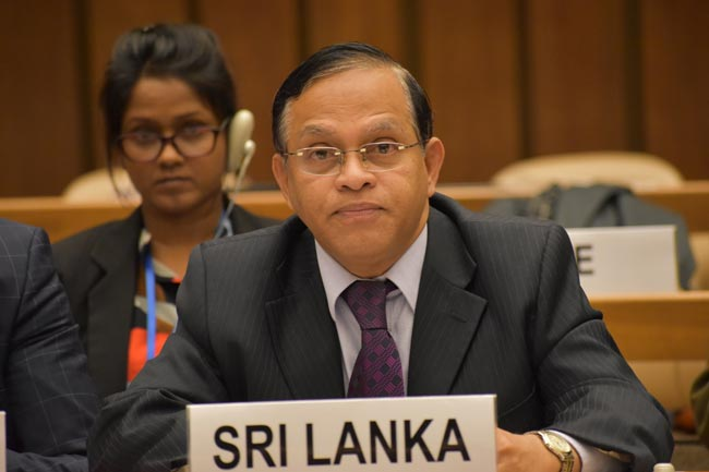 Sri Lanka elected Chair of Biological Weapons Convention Meet