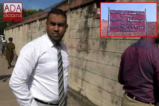 Dr. Shafi arrives at Kurunegala Magistrate Court