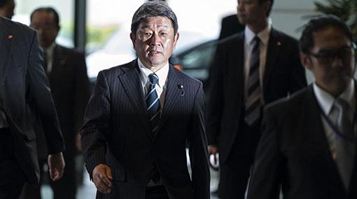 Japanese Foreign Minister in Sri Lanka