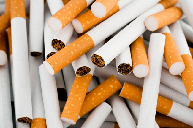 Suspect busted with thousands of illegally imported cigarettes