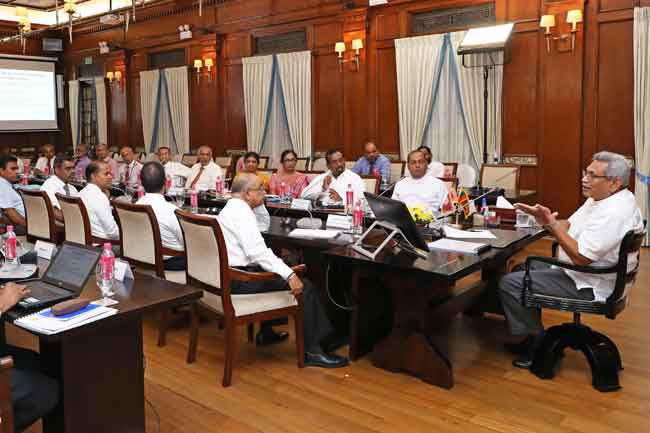 President chairs meeting to discuss issues in power sector