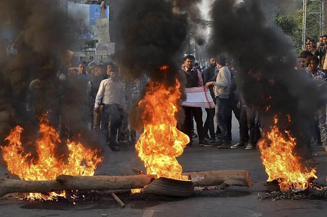 Anti-Citizenship Amendment Bill protests in India, two killed in police firing