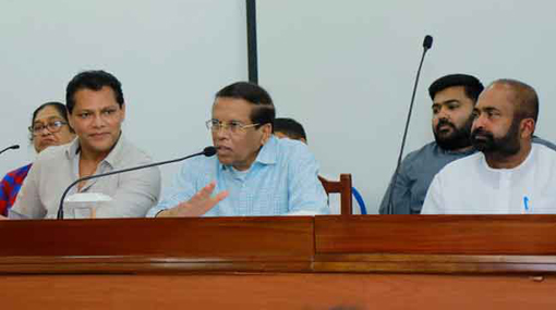 SLFP must support President to build strong new govt - Sirisena