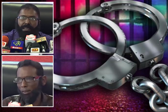 "Two persons who made ""white van"" claims at Rajitha's media briefing arrested"
