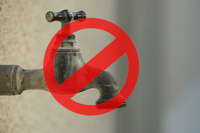 24-hour water cut for most parts of Colombo tonight