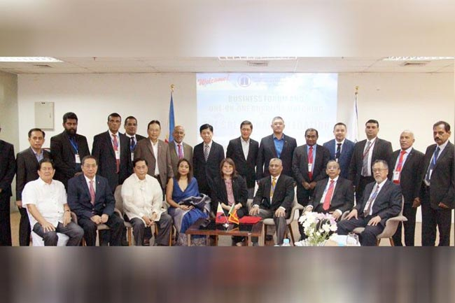 Philippines pushes expanded trade with Sri Lanka