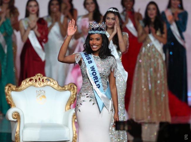Jamaican Toni-Ann Singh wins Miss World title