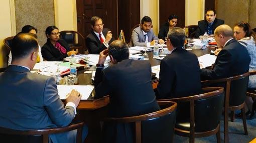 Foreign Sec. calls for regaining of Sri Lanka's economic prominence in Egypt