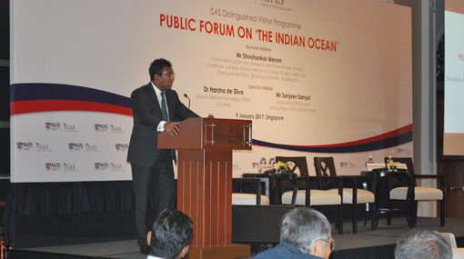 Harsha emphasises need for a wise foreign policy in region