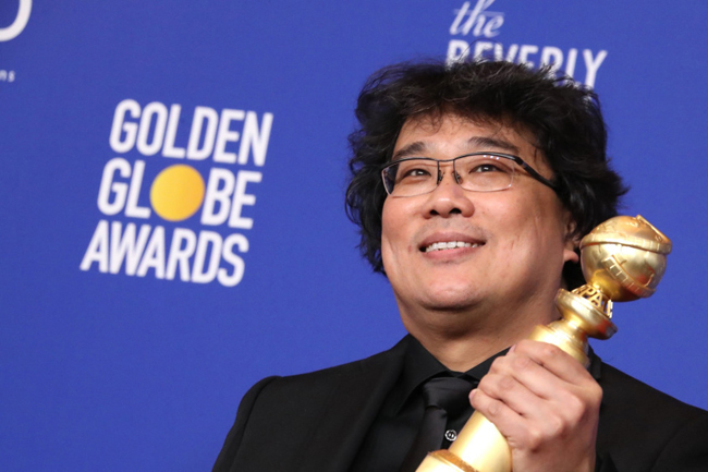 South Korea celebrates as 'Parasite' takes country's first Golden Globe win