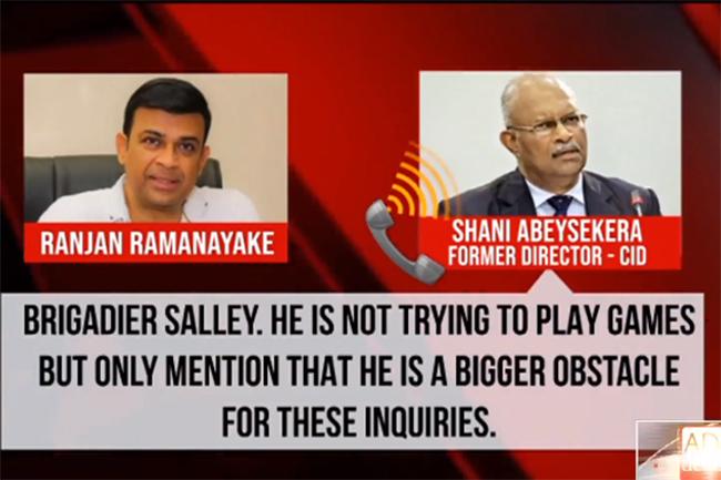 Ranjan's controversial telephone conversation with Shani Abeysekara revealed