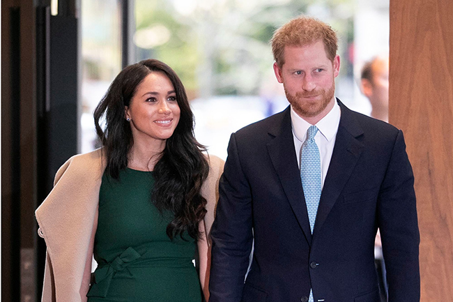 Prince Harry and Meghan to 'step back' from royal family