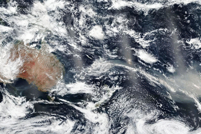 Australia's bushfire smoke will do a full lap of the earth - NASA