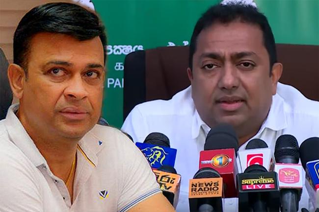 UNP temporarily suspends Ranjan's party membership