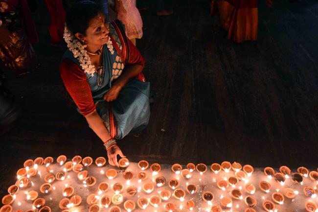 Hindus celebrate Thai Pongal…
