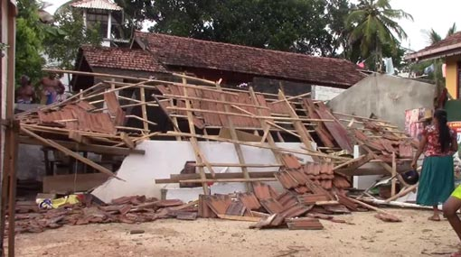 Eight students hospitalized as roof of tuition class collapses