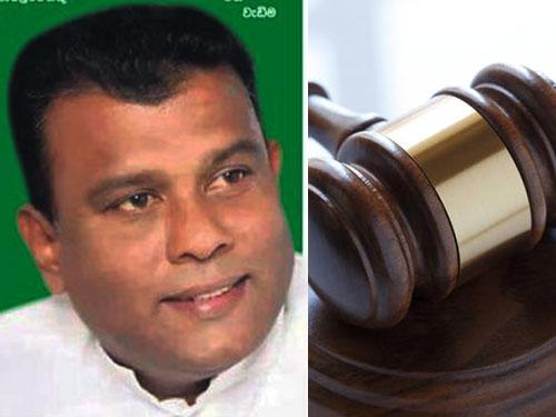 UNP MP Shantha Abeysekara granted bail