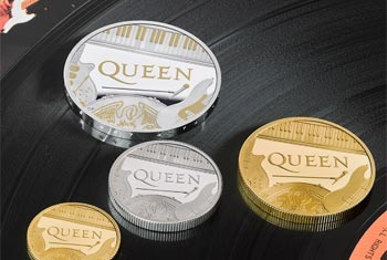 Queen becomes first band to appear on a British coin