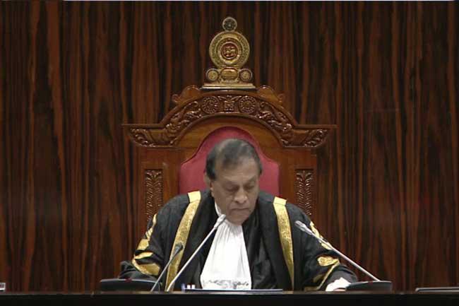 Ranjan hasn't handed over phone recordings to parliament - Speaker