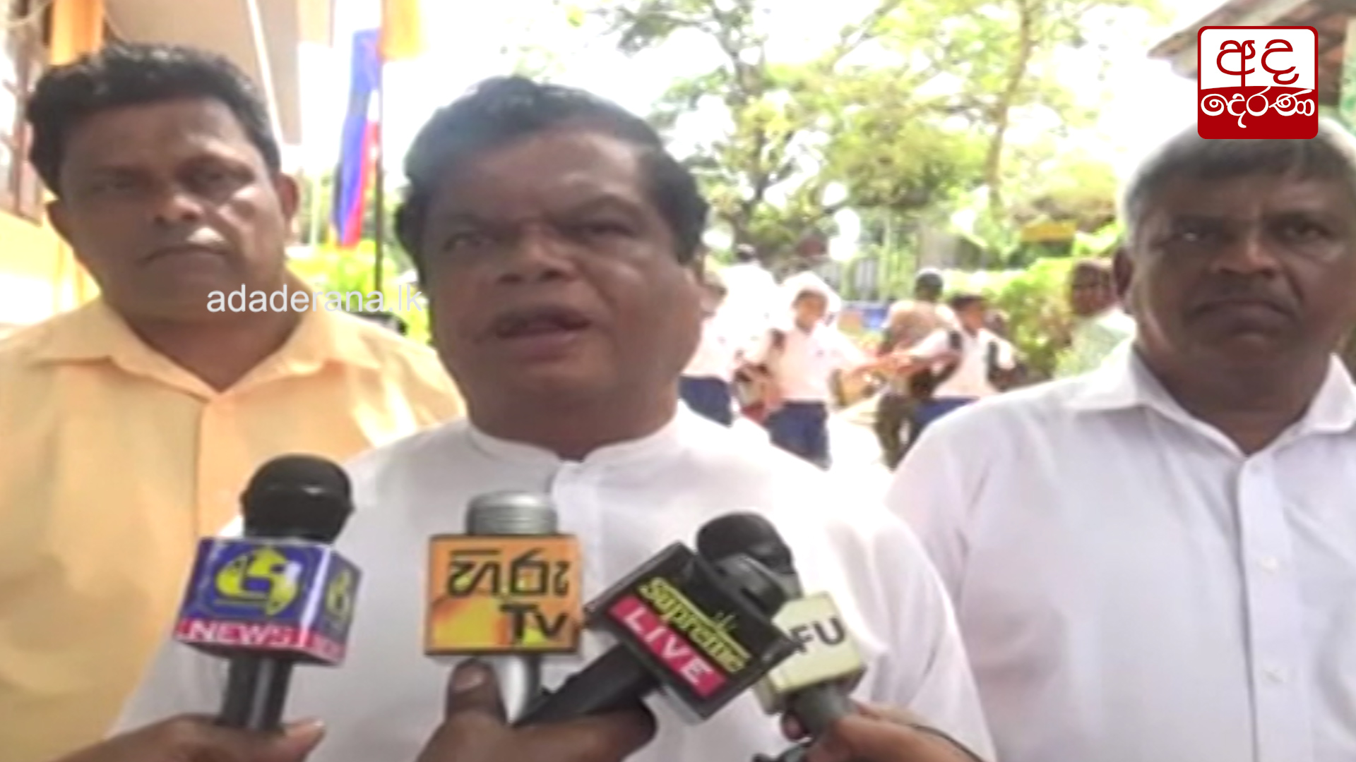 No attempts to conceal Bond Scam allegations - Bandula