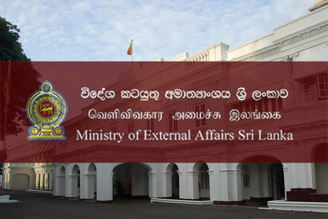 Foreign Ministry on alert over Sri Lankans in China