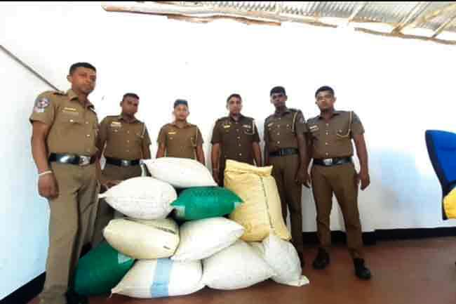Man arrested with over 100 kg dried Cannabis