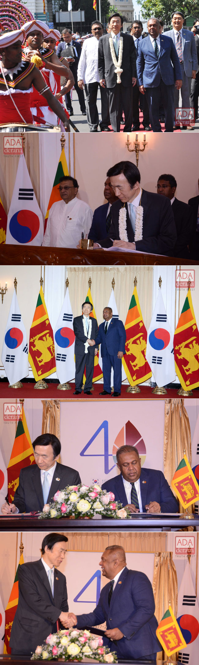 South Korean FM in Sri Lanka...