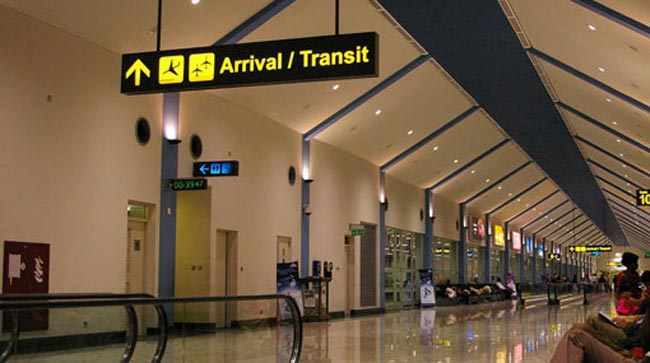 Separate terminal at BIA for passengers from China