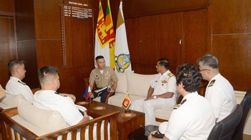 'Remon Alcaraz' and 'Davao Delsur' arrive in Colombo