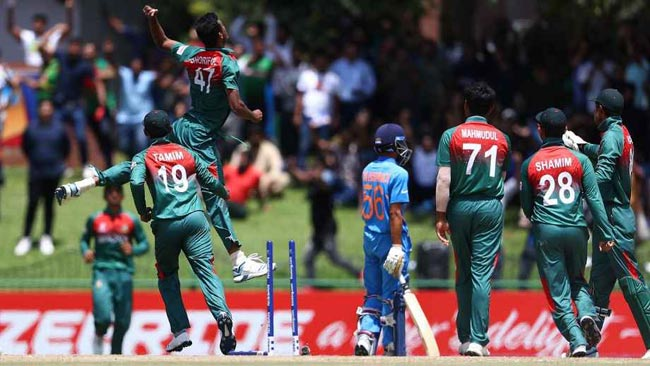 Akbar Ali, Shoriful Islam lead Bangladesh to U19 World Cup glory