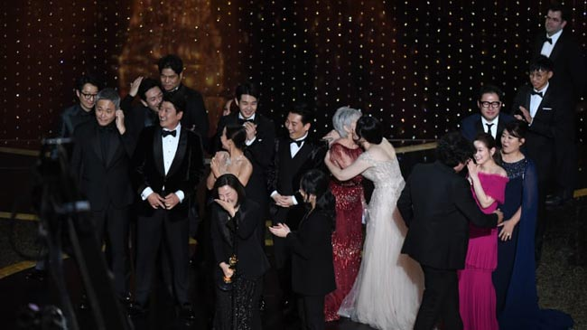 'Parasite' makes Oscars history with four wins, including Best Picture