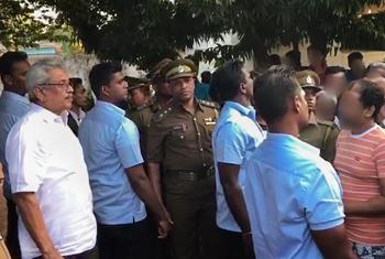 President visits Welikada Prison…