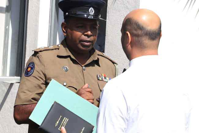 Muzammil lodges complaint against Bathiudeen