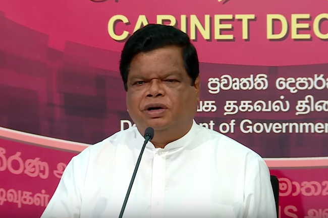 Cabinet stands up for District Forest Officer who refused to bend law - Bandula