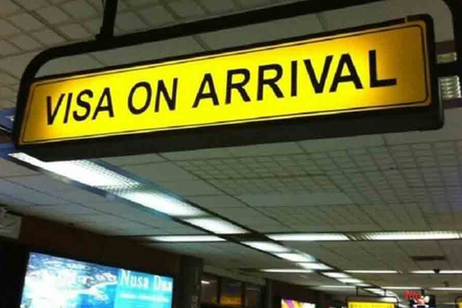Approval to extend free visa-on-arrival facility for three months