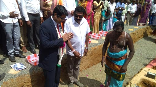 Foundation Stones laid for India assisted projects in Central Province