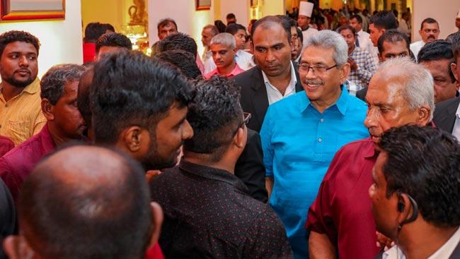 President meets Trade Union activists