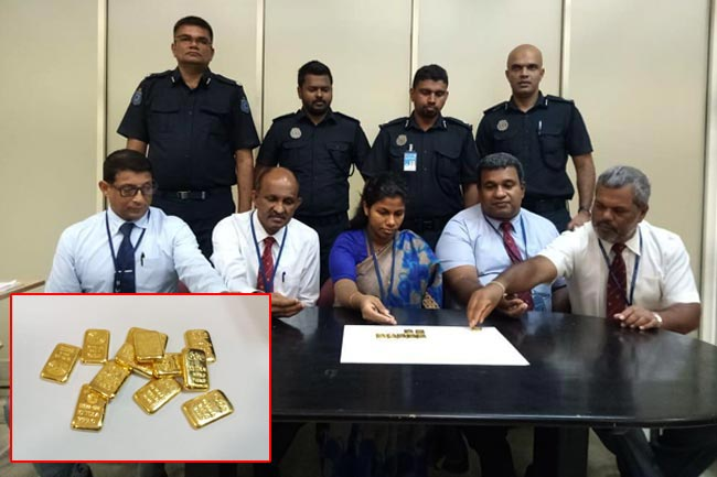 Businessman caught smuggling in gold worth Rs 12.8 mn