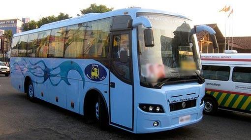 Hambantota-Fort expressway bus service begins tomorrow