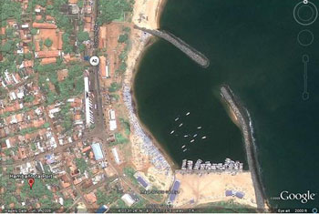 Lanka seeks USD 40 mln Chinese loan for port rock removal