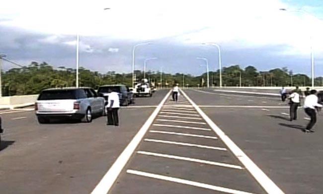 Matara-Hambantota extension of Southern Expressway declared open