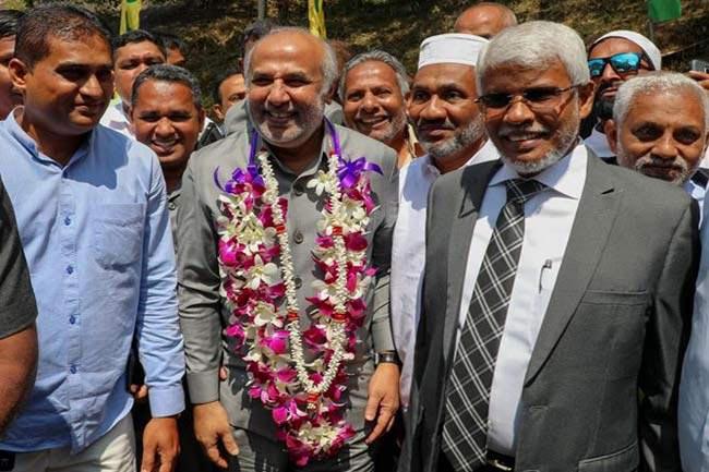 Hakeem on a broader coalition between minority parties, JVP