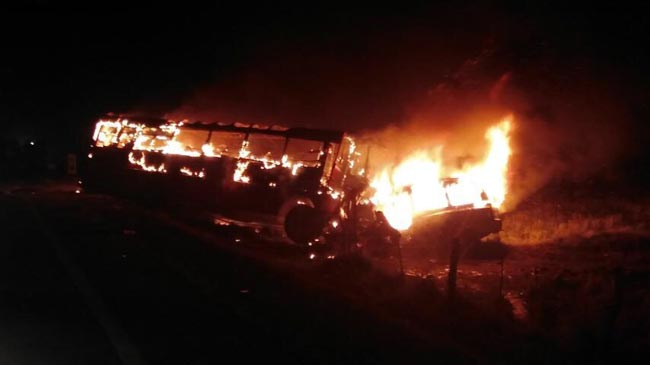 Fatal accident on A-9 leaves 5 dead, 21 injured