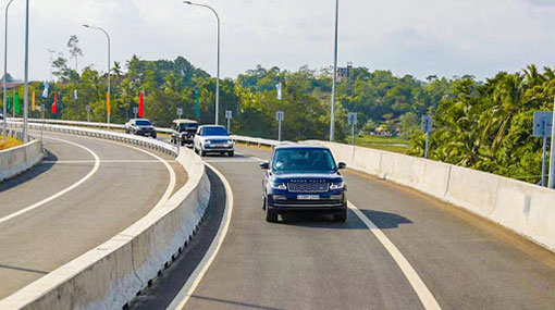 Extension of Southern Expressway open for traffic from midnight