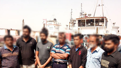 Sri Lanka makes appeal over 7 crew members arrested in Nigeria